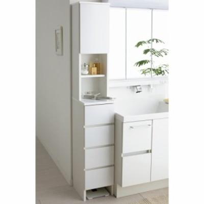 家電が使えるコンセント付き 多機能洗面所チェスト 幅30cm 532209