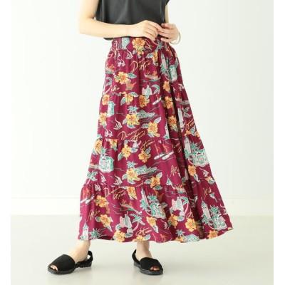 【ビームス ウィメン/BEAMS WOMEN】 SUN SURF × BEAMS BOY / 別注 ハワイアン ティアード スカート