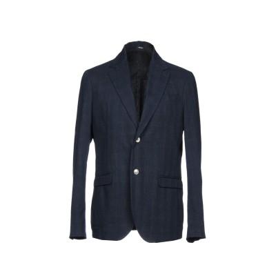 OFFICINA 36 テーラードジャケット ダークブルー 48 コットン 95% / ポリエステル 5% テーラードジャケット