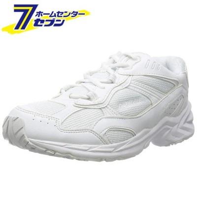 ムーンスター スニーカー アドバン 軽量 幅広 3E メンズ ADVAN 2000-22 ホワイト 25cm 月星 [シューズ 靴]