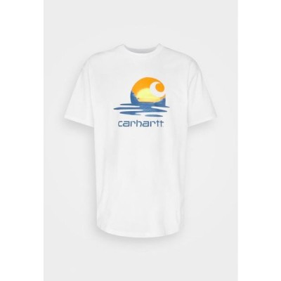 カーハート メンズ ファッション LAGOON - Print T-shirt - white