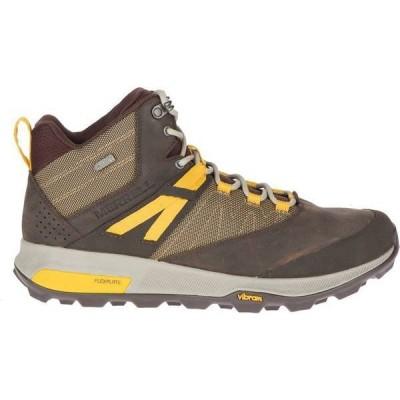 メレル メンズ ブーツ・レインブーツ シューズ Merrell Men's Zion Mid Waterproof Hiking Boots