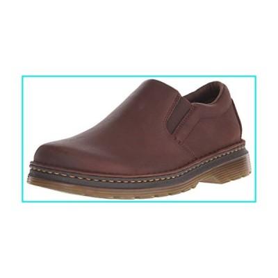 Dr. Martens Men's Boyle Slip-On Loafer, Dark Brown Grizzly, 11【並行輸入品】