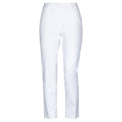 REGGIANI パンツ ホワイト 46 コットン 98% / ポリウレタン 2% パンツ