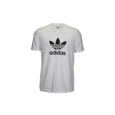アディダス オリジナルス メンズ adidas Originals Trefoil T-Shirt Tシャツ White