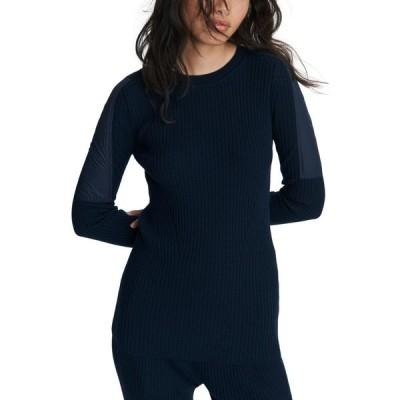 ラグ&ボーン RAG & BONE レディース ニット・セーター トップス Emory Woven Detail Ribbed Wool Sweater Sal