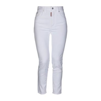 ディースクエアード DSQUARED2 パンツ ホワイト 36 コットン 98% / ポリウレタン 2% パンツ