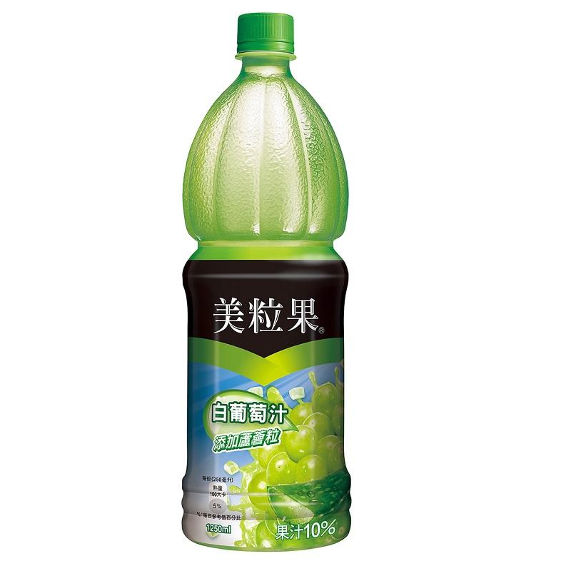 美粒果白葡萄加蘆薈Pet1250ml