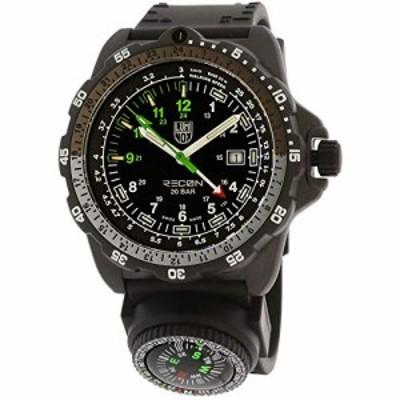 腕時計 ルミノックス アメリカ海軍SEAL部隊 Luminox Men's Recon XL.8831.KM.F Black Silicone Swis