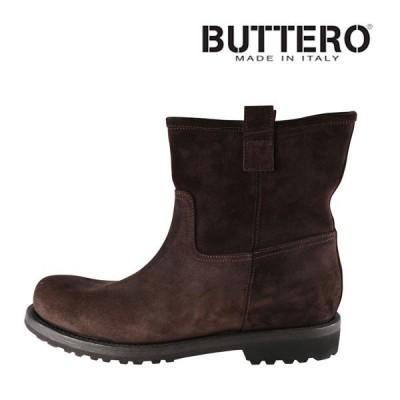 【43】 Buttero ブッテロ ブーツ B2935 メンズ ブラウン 茶 レザー 並行輸入品