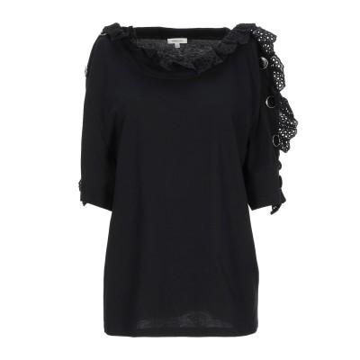 マヌーシュ MANOUSH T シャツ ブラック XS コットン 100% T シャツ