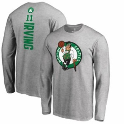 Fanatics Branded ファナティクス ブランド スポーツ用品  Fanatics Branded Kyrie Irving Boston Celtics Gray Backer