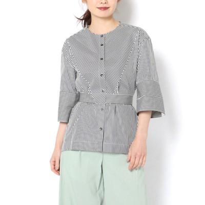 【PalmerHarding】ストライプ半袖シャツ