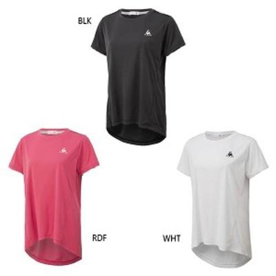 【送料無料】 ルコックスポルティフ le coq sportif レディース 半袖シャツ 半袖Tシャツ トップス  吸汗 UVカット UPF50+ QTWQJA05