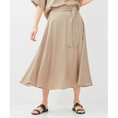 【ベイジ,/BEIGE,】 【InRed5月号掲載】MERU / フレアスカート