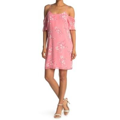 コレクティブコンセプツ レディース ワンピース トップス Cold Shoulder Dress PINK