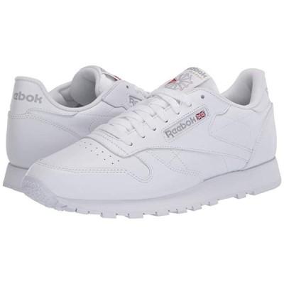リーボック Classic Leather メンズ スニーカー 靴 シューズ White/White/Light Grey