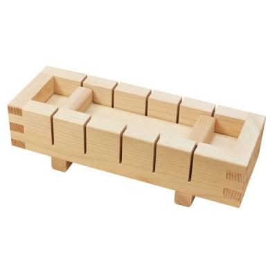 押し寿司器 寿司型 押寿司器 六ツ切 小 《792474》 【日本製 木製 にぎり寿司 型枠 ひのき スプルース ヤマコー てまひま工房】