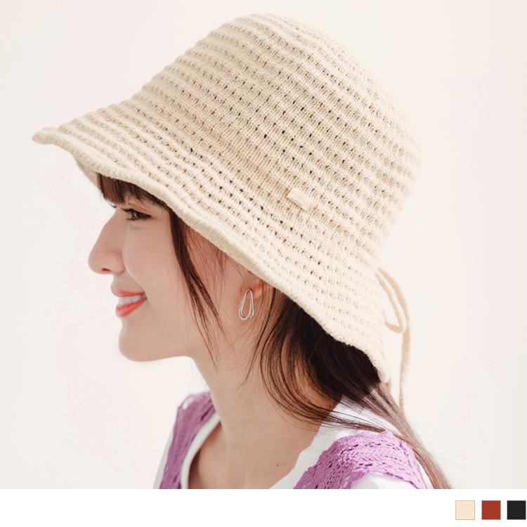編織造型休閒草帽漁夫帽
