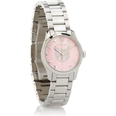 グッチ Gucci レディース 腕時計 g-timeless 27mm stainless steel watch