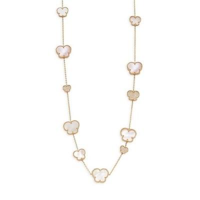 エフィー ネックレス・チョーカー・ペンダントトップ アクセサリー レディース 14K Yellow Gold, Diamond & Mother of Pearl Necklace 0