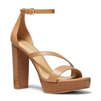 マイケルコース レディース サンダル シューズ Tanner Platform Dress Sandals Peanut