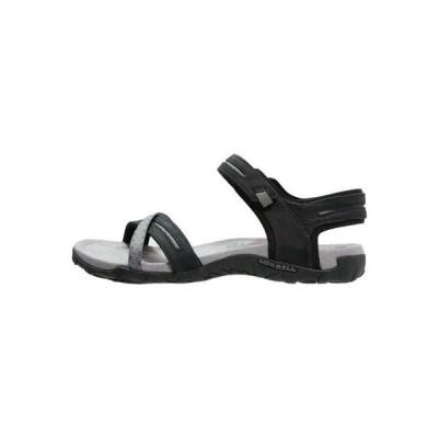 メレル レディース 靴 シューズ TERRAN CROSS II - Walking sandals - black