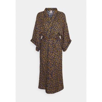 ベックソンダーガード ワンピース レディース トップス LINEORA LIBERTE KIMONO - Dressing gown - mazarine blue