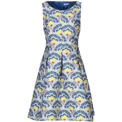 パロッシュ P.A.R.O.S.H. ミニワンピース&ドレス ブルー M ポリエステル 73% / ナイロン 27% ミニワンピース&ドレス