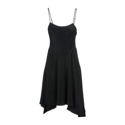 3.1フィリップリム 3.1 PHILLIP LIM ミニワンピース&ドレス ブラック 8 100% シルク ミニワンピース&ドレス