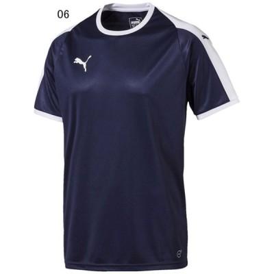 プーマ サッカー ユニフォーム ゲームシャツ LIGA ゲームシャツ ピーコート×プーマホワイト 06 PU-703637-06