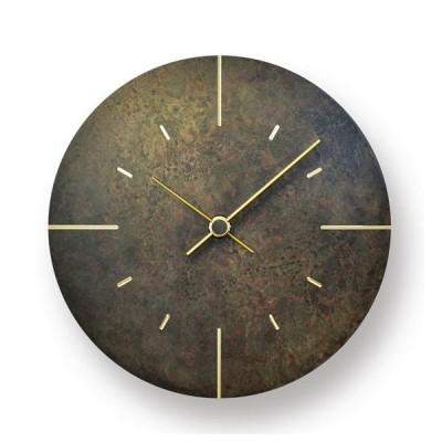 【受注確定後2〜4週間でお届け致します】掛け時計 Orb / 斑紋黒染色 レムノス 壁掛け時計