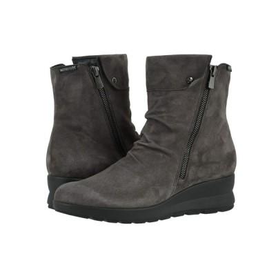メフィスト Mephisto レディース ブーツ シューズ・靴 Phila Grey Velcalf Premium