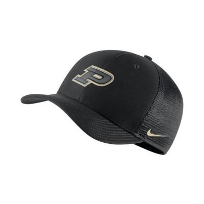 ナイキ メンズ 帽子 アクセサリー Purdue Boilermakers Aerobill Mesh Cap
