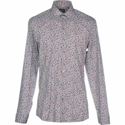 パトリツィア ペペ PATRIZIA PEPE メンズ シャツ トップス patterned shirt Grey