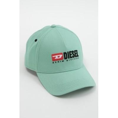 ディーゼル DIESEL キャップ ベースボールキャップ 帽子 CAKERYM-MAX CAPPELLO ライトグリーン (00SIIQ 0BAUI)