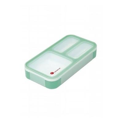 CBジャパン シービージャパン 薄型弁当箱 フードマンミニ ミントグリーン 弁当 弁当箱 薄型 ランチ 持ち運び コンパクト 軽量