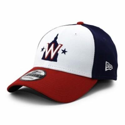 新品 ニューエラ NEW ERA nr12380513 ワシントン ナショナルズ 9FORTY CAP キャップ WHITE NAVY RED ブラウン ヘッドウェア