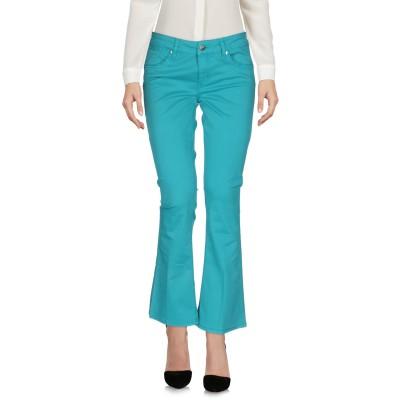 リュー ジョー LIU •JO パンツ ターコイズブルー 26 コットン 97% / ポリウレタン 3% パンツ