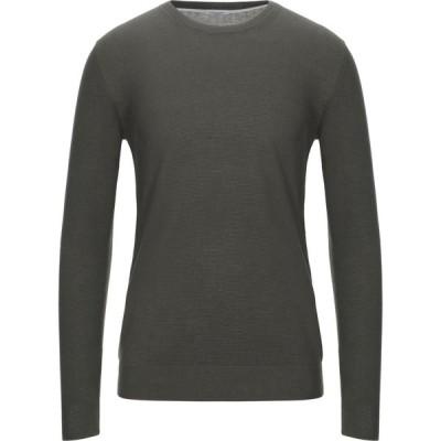 パオロ ペコラ PAOLO PECORA メンズ ニット・セーター トップス sweater Military green