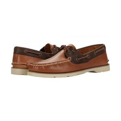 Sperry スペリー メンズ 男性用 シューズ 靴 ボートシューズ Leeward 2-Eye Leather - Tan/Brown
