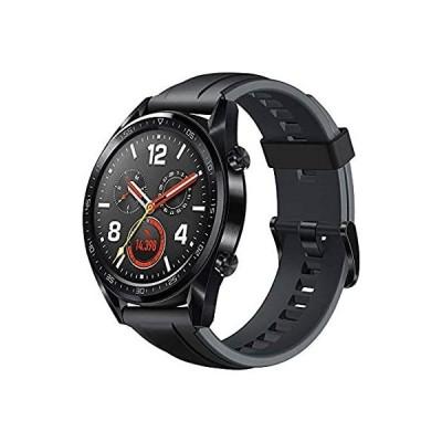 特別価格HUAWEI WATCH GT スマートウォッチ GPS内蔵 気圧高度計 iOS/Android対応 WATCH GT Sports/Black ベル好評販売中