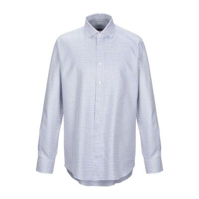 XACUS シャツ ホワイト 40 コットン 100% シャツ