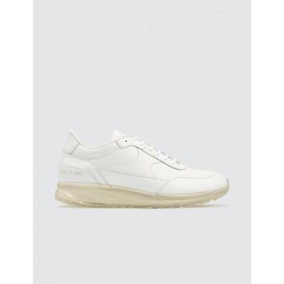 コモン プロジェクト Common Projects メンズ スニーカー シューズ・靴 Transparent Sole Pack Track Classic White