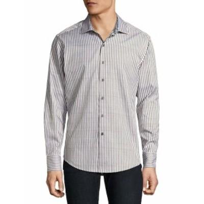 ロバートグラハム Men Clothing Marion Cotton Casual Button-Down Shirt