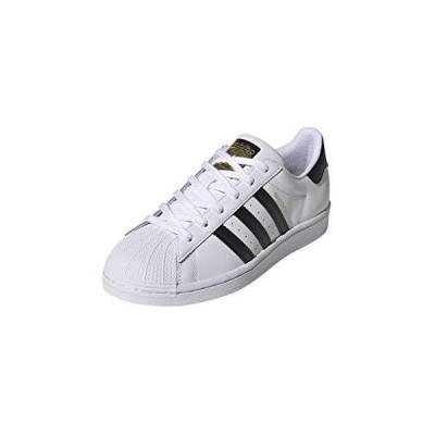 adidas Originals womens Superstar Sneaker, White/Black/White, 6.5 US
