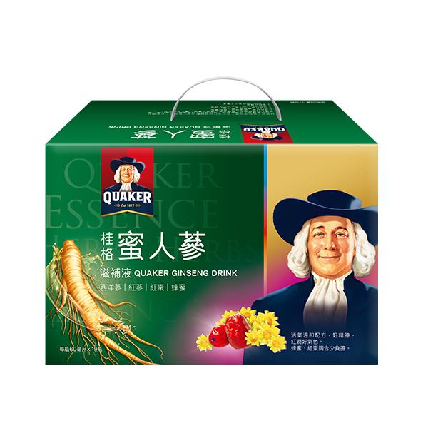 桂格蜜人蔘盒裝(19瓶入)