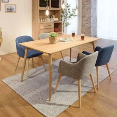 ダイニングテーブル 食卓 天然木脚 北欧風 カラメリ 幅150cm ( 送料無料 テーブル 机 つくえ 食卓 食卓テーブル リビング ダイニング リ