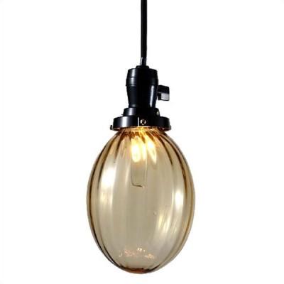 照明器具 アンティーク ガラス ペンダントライト 昭和モダン モールたまご 1灯