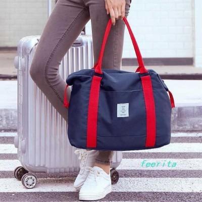 ボストンバッグ旅行バッグレディース1泊2泊用おしゃれ大容量ハンドバッグトラベルバッグキャリーオンバッグ